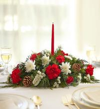 Traditional Christmas Centerpiece